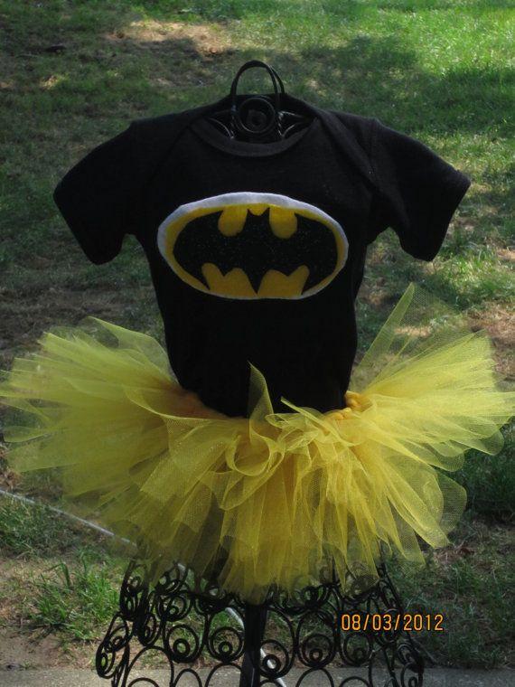BabyGirls Batman Superhero Costume Small by @SweetLaylaKays on @Etsy