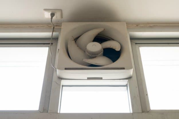 Make Use Of Your Bathroom And Kitchen Exhaust Fans | Ways to Keep Your House Cool During The Summer | https://survivallife.com/keep-house-cool-during-summer/