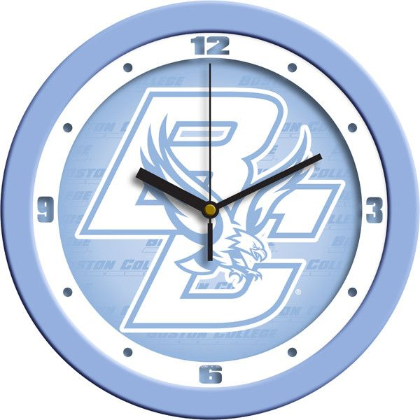 Mens Boston College Eagles - Baby Blue Wall Clock