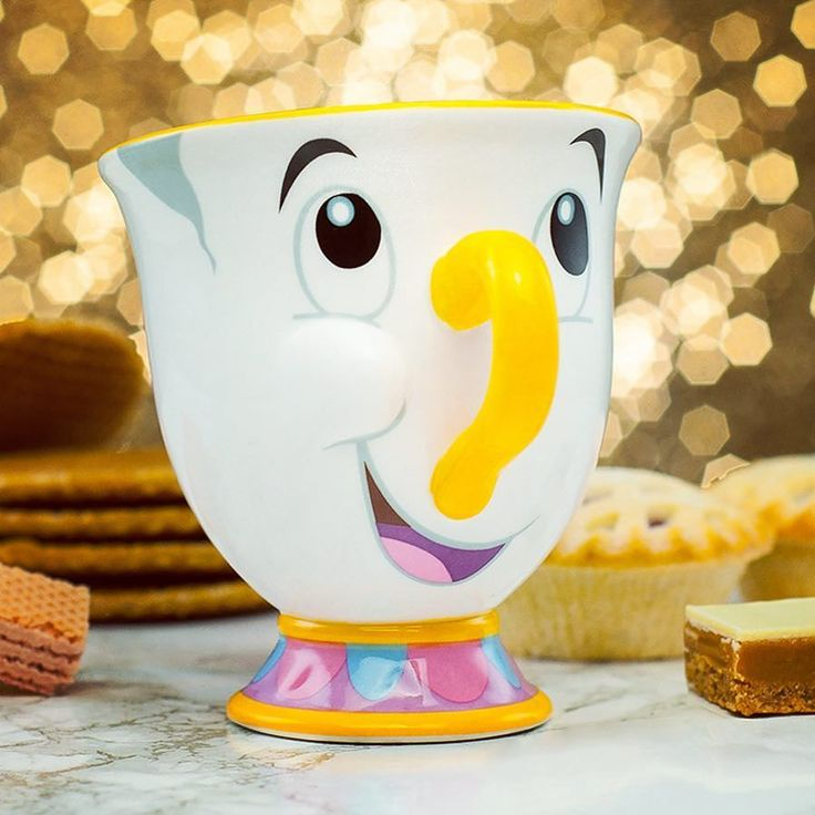 Be our guest be our guest! #beautyandthebeast #chipmug