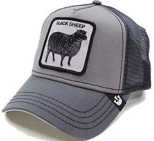 NEW! Goorin Bros Animal Farm Black Sheep Hat Shades Of Black Cap Gray  | eBay