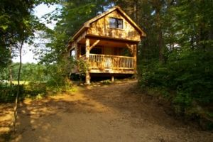 The Log Cabin, Cottages and Yurts Rent Cottage in Killaloe Haliburton, Algonquin Park Ontario