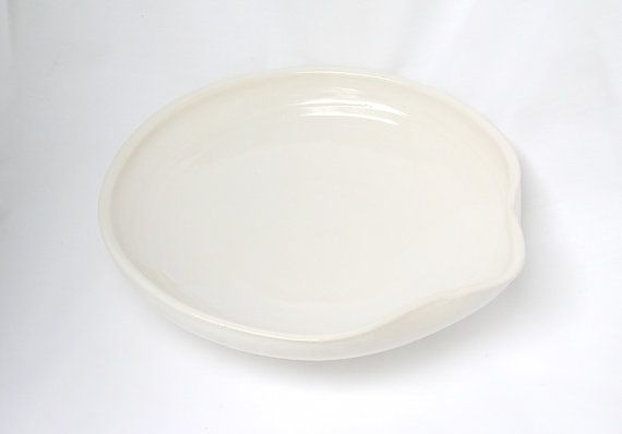 Spoon Rest Spoon Holder Porcelain Spoon Rest by VanillaStone, $25.00
