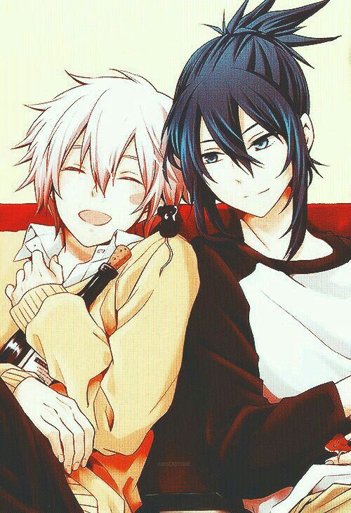 Shion x Nezumi | Happy moments must be treasured~ | No.6☆