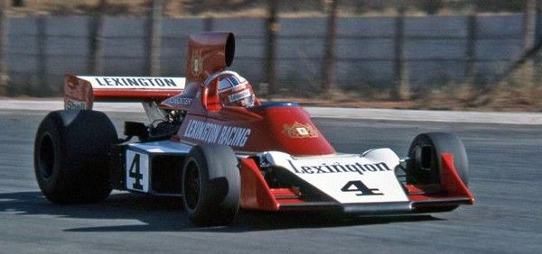 Lexington Racing (Tyrrell 007 - Ford) Ian Scheckter