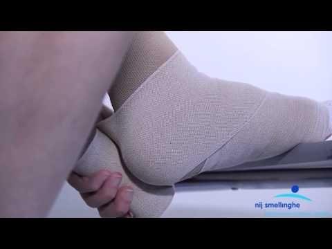 Nij Smellinghe - ECL - Voet en onderbeen zwachtel - YouTube
