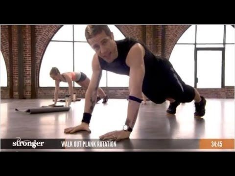 37-min no-equipement HIIT workout. The breakdance thruster at 15:44 looks interesting.