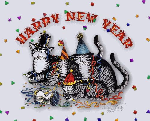 happy new year gif