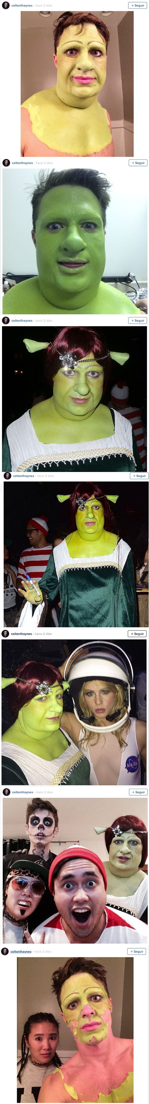 La princesa Fiona es... ¡un famoso chulazo!   Shangay