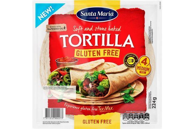 Uutuus: Gluteeniton, vegaaninen tortilla