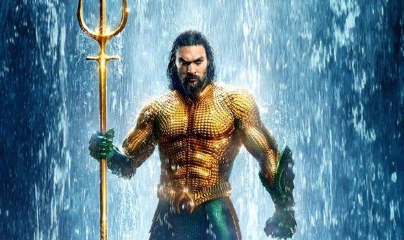Jason Momoa Aquaman Aquaman 2018 Movies