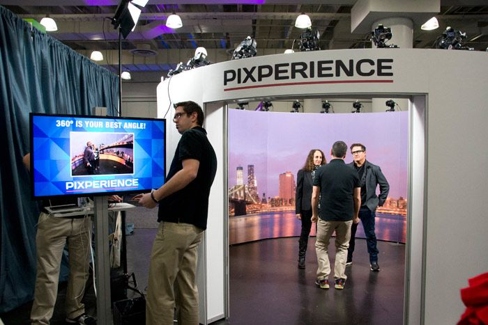 360-Degree Photo Booth From Pixperience