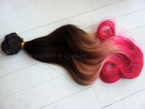 65 best ombre and colored hair ideas images on pinterest colored ombrehairextensionsneapolitanombrebrownhairextensionspastelpinkhairclipinhairextensions16customyourcolor753b0be4g 500374 pmusecretfo Choice Image