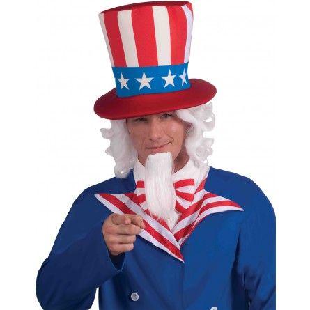 Uncle Sam Wig & Beard