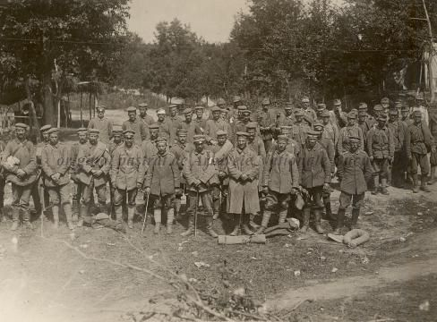 BU-F-01073-1-08738 Prizonieri austrogermani. Mărăşeşti, 1917.07.12 (niv.Document)
