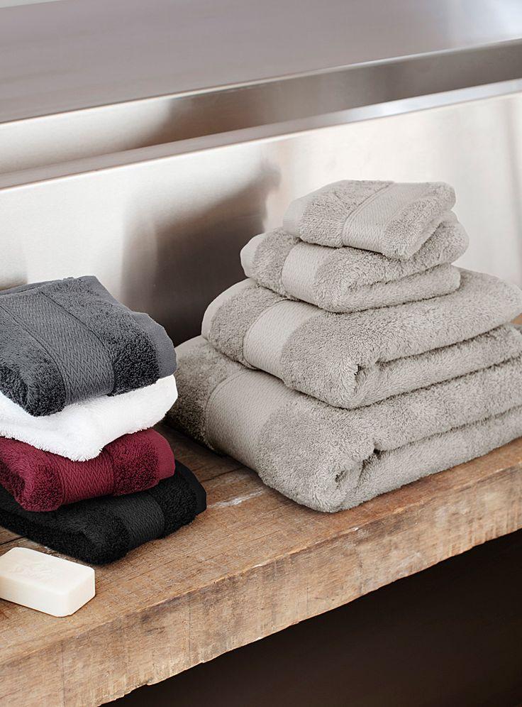 Les serviettes coton égyptien | Simons Maison | Magasinez des Serviettes de Bain Turc et en Coton Égyptien | Simons