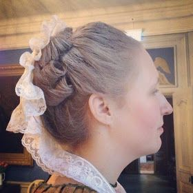 Anno 1776: 1760's Day. Hairstyle. Not a fan of the powdered wig look, but like the style.