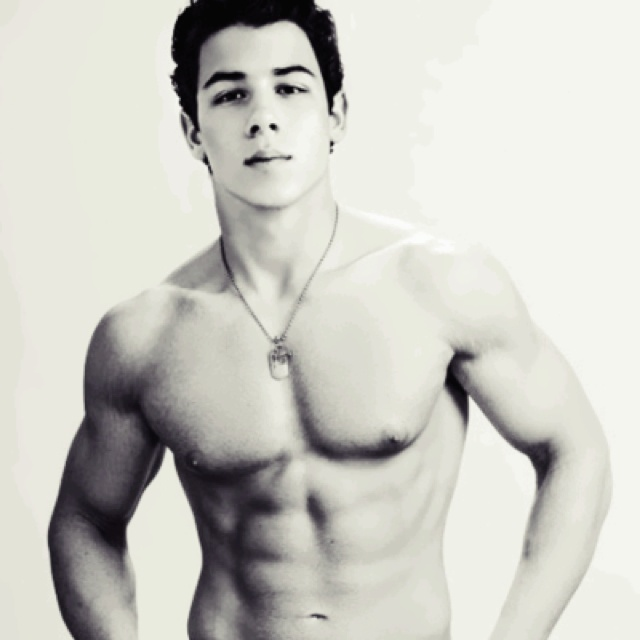 Yum. Nick Jonas!