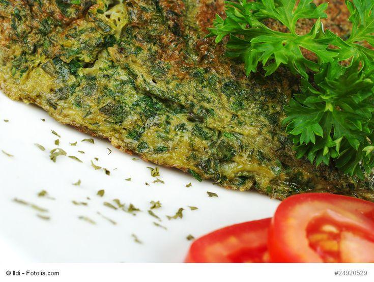 Koukou-e-Sabzi (Omelett mit Kräutern)