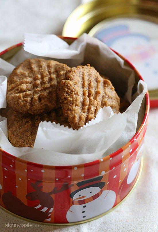 3-Ingredient Almond Butter Cookies | Skinnytaste