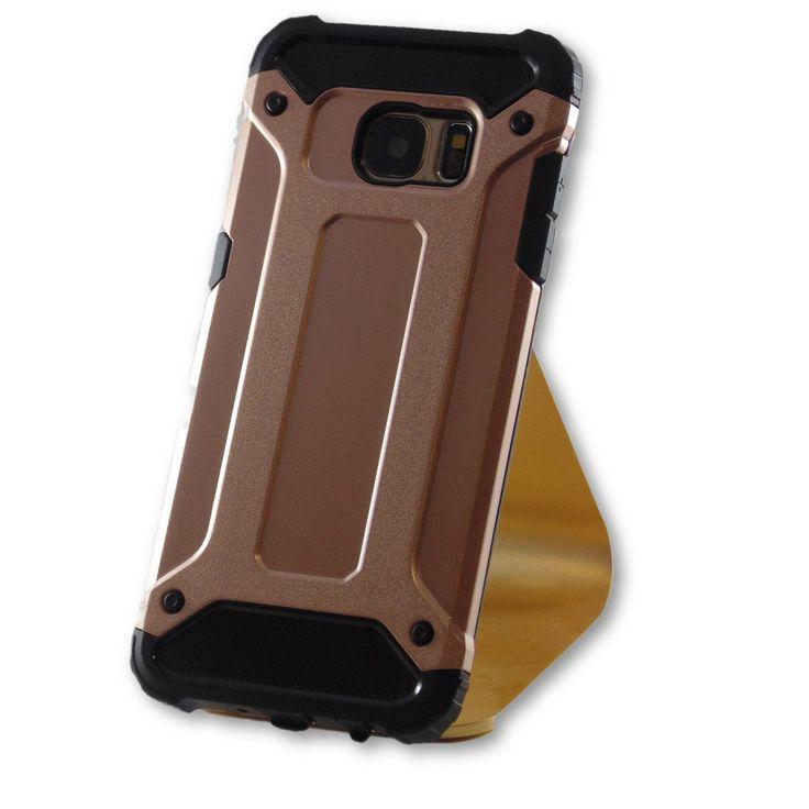 Samsung Galaxy S7 Edge Rose Gold Hybrid Tough Armor Case   https://www.fgcases.com #S7 #Samsung #lgv20 #iphone6plus #iphone7 #Lg #apple #iphone6 #galaxys7edge #iphone7Plus #S7edge #galaxys7