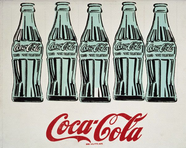 Andy Warhol- CocaCola 5 Bottles (1962)