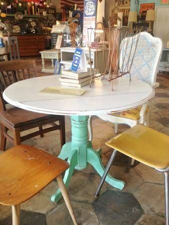 Marvelous Adorable Painted Pedestal Table | House Dreams | Pinterest | Pedestal Tables,  Pedestal And Tables