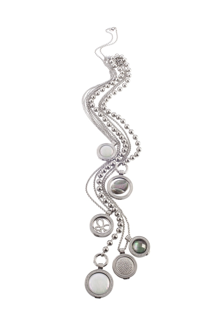Quoins - jewellery trend 2013: create your own necklace