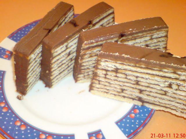 Prajitura cu ciocolata ~ Bucatar maniac si prietenii