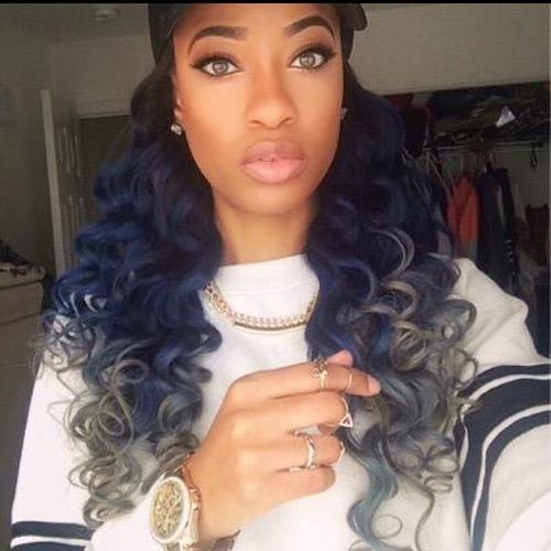 40 best grey weave hair images on pinterest braids texture pinterest imanikeisha blue weave hairblue gray hairgray hair pmusecretfo Images