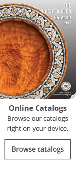 2018 Digital Catalog is now available from Craft Supplies USA. #woodturning #catalog #woodturnerscatalog
