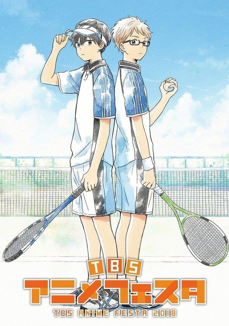 Hoshiai no Sora un nouvel anime de Tennis à voir , à