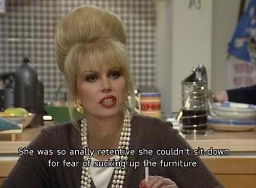 Joanna Lumley // Absolutely Fabulous (1992-2012)