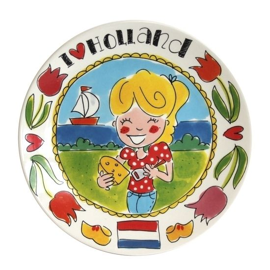 blond i love holland servies - Google zoeken