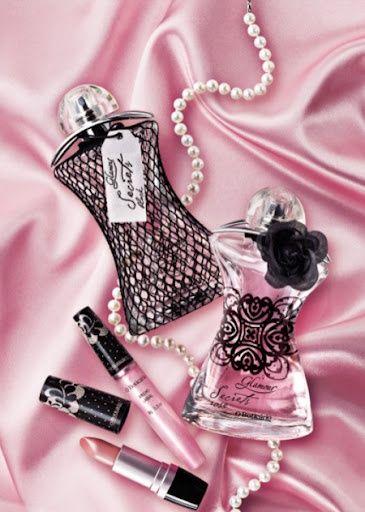 *Pink Satin & Lovely Beauty items