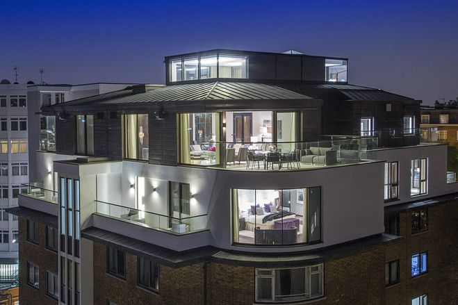 Europe House Of The Day London Luxury Penthouse Photos