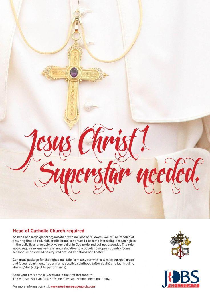 Jesus Christ! Superstar needed