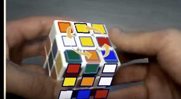 Solucionar el cubo de #Rubik con realidad Aumentada [VIDEO]