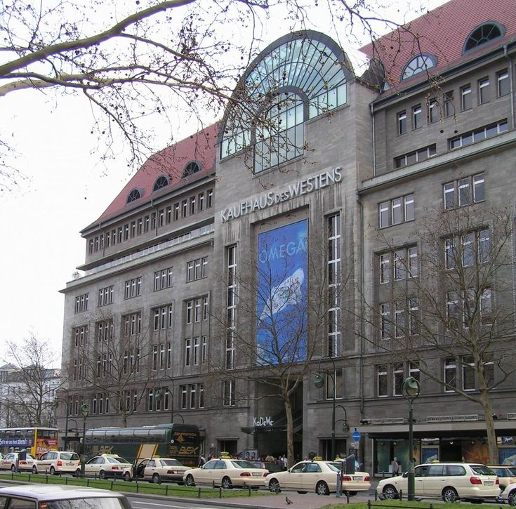 kadewe berlin biggest department store in europe and has a bigger food center than harrod 39 s. Black Bedroom Furniture Sets. Home Design Ideas