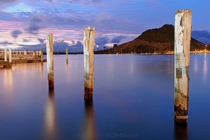 Pilot Bay, Mount Maunganui, New Zealand
