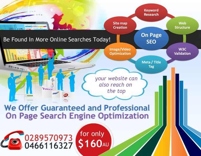 On-Page Optimization (SEO) is a critical component of website optimization for favorable rankings as well as for a wholly successful online marketing campaign. Success is assured if a website is optimized not only for search engines but for individual Internet users, too. Best practice recommends that on-page optimization services must be integrated with the overall SEO approach so that it delivers outstanding results.