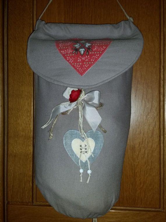 Porta sacchetti di IlCantucciodiZenzero su Etsy