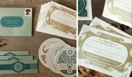 Austin Petito Wedding Package: Brand Ideas, Austin Petito, Tights Slices, Wedding Invitations, Graphics Design, Design Packaging, Austin Wedding, Letterpress Design, Prints Packaging