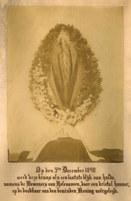 De ontginningen in de Peel van de Maatschappij Helenaveen aan het eind van de negentiende eeuw wekten de belangstelling van koning Willem III. Klik op de afbeelding voor het hele relaas!