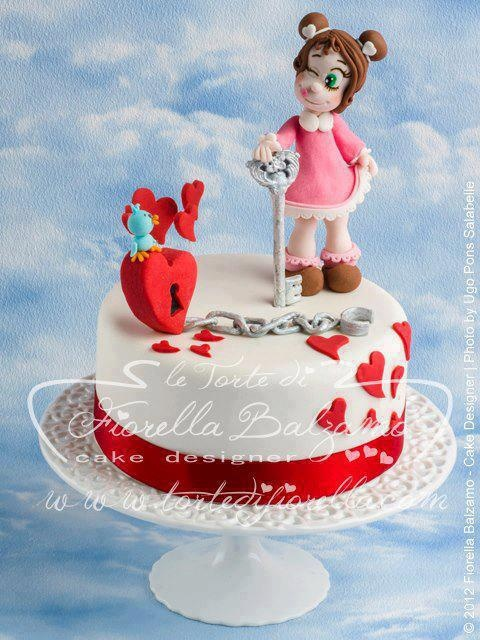 Valentine Cake Fiorella Balzamo