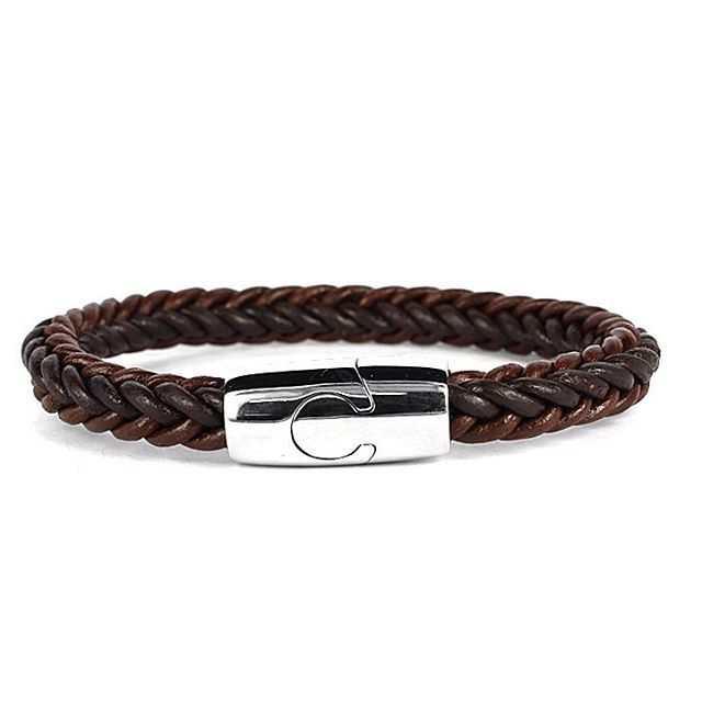 Beige Braided Bracelet SGTKI02700 Rp 288.000 Steel 316L ,kulit sapi DPARIS Beautify U