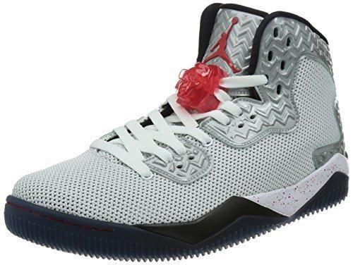 Nike Jordan Men's Air Jordan Spike Forty PE White/Fire Red/Black Basketball Shoe 10.5 Men US