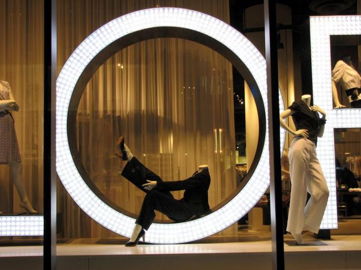 Cool shop window