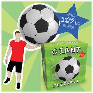 Ballon de Foot Gonflable Géant #football #ballon #gadget