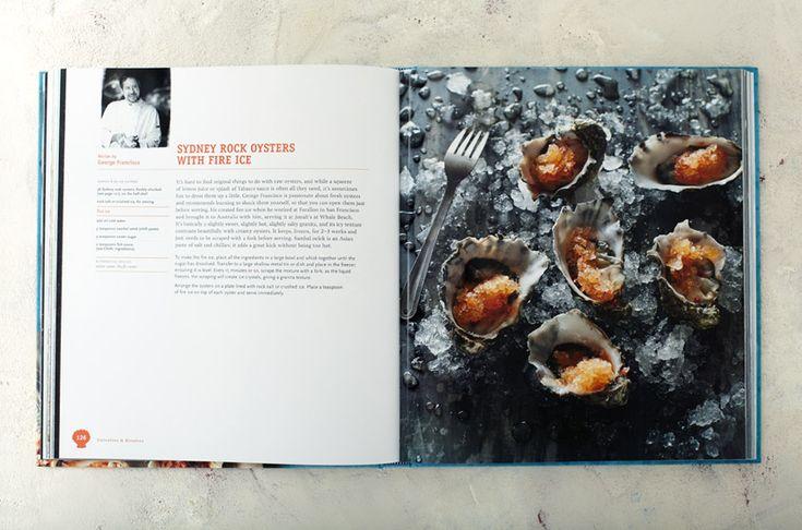Inspiring Book Design - Sydney Seafood School Cookbook 3